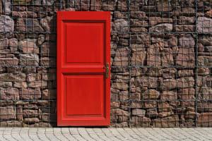 از در به در
