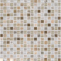 GLSELM5858-CH - Elume Mosaic - Champagne