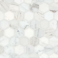 MRBCALOROHEX - Calacatta Oro Mosaic - Calacatta Oro