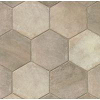 AGONATGREHEX13 - Native Tile - Grey