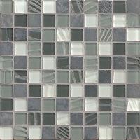 GLSELM0101-OP - Elume Mosaic - Organic Pewter