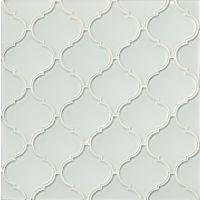 GLSMALWHLARA - Mallorca Glass Mosaic - White Linen