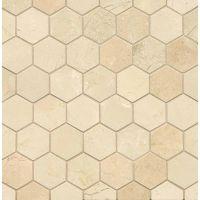 MRBCREMARHEX - Crema Marfil Select Mosaic - Crema Marfil Select