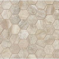 TCRSM221HEXA - Stone Mountain Mosaic - Alabaster