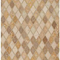 TRVBLENDDIA - Travertine Mosaic Blend Mosaic - Mosaic Blend