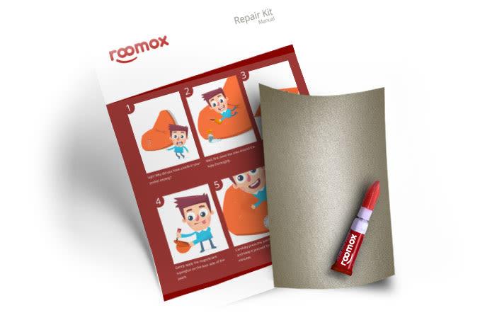 Roomox Beanbag Repairkit-NYL34 - Sand