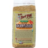 Bob's Red Mill Organic Raw Whole Golden Flax Seed