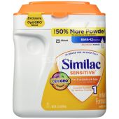 Similac Sensitive Milk Powder For Fusiness & Gas - Stage 1