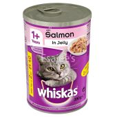 Whiskas With Salmon in Jelly Cat Food