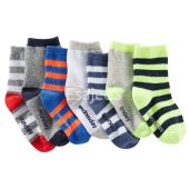 OshKosh Bgosh Boy 7-Pack Weekday Crew Socks