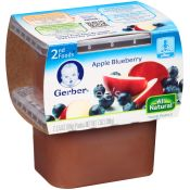 Gerber  Baby Food Apple Blueberry