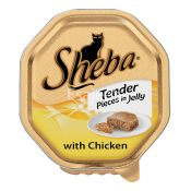 Sheba Fine Flake Chicken Cat Food