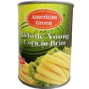 American Green Whole Young Corn