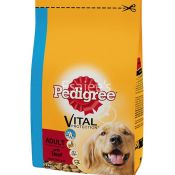 Pedigree Dry Adult With Beef Dog Food