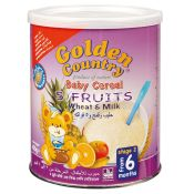 Golden Country Baby Cereal 5 Fruits wheat & Milk