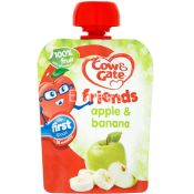 Cow & Gate Fruit Pouch Apple And Banana