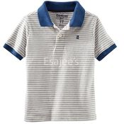 Oshkosh Bgosh Little Boys Stripped Polo T Shirt