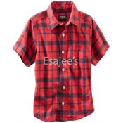 Oshkosh Bgosh Little Boys Check Shirt
