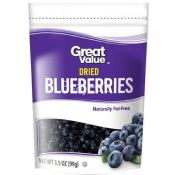 Great Value Dried Blueberries