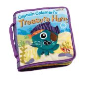 Lamaze Captain Calamaris Treasure Hunt Cloth Book Bag