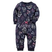 Carters Girls Coverall Jumpsuit