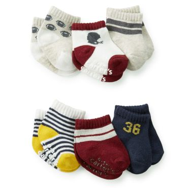 Carters Boy 6-Pack Baby Sport Socks