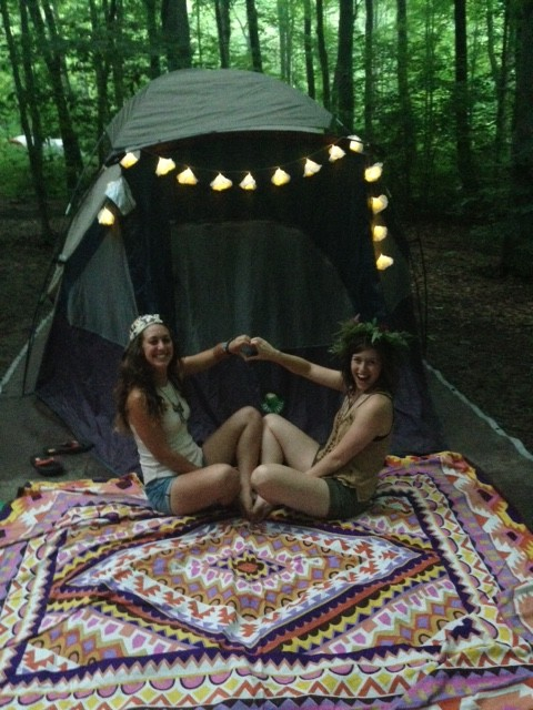 Girls' Night Out(side): How to Host a Campy Bachelorette Party!