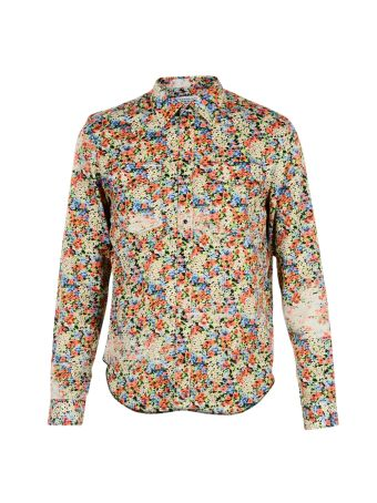 Multicolor Flower Print Shirt