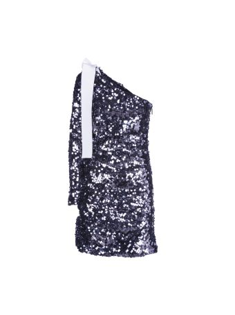 Msgm Paillettes Dress