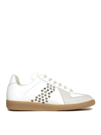 Maison Margiela Perforated Stripe Sneakers