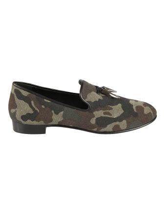 Giuseppe Zanotti Camouflage Loafers