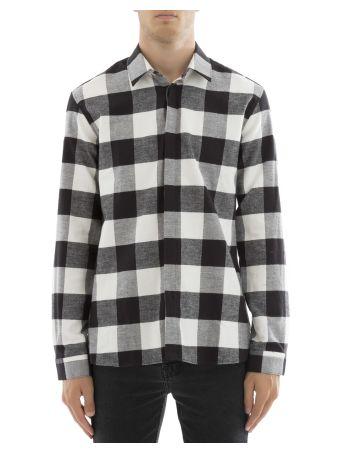 Squared Cotton Shirt