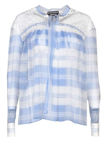 Rochas Striped Blouse