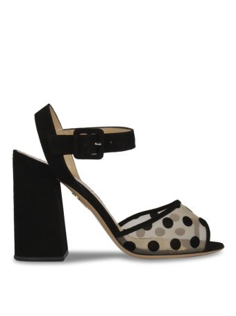 Charlotte Olympia Polka Dot Sandals