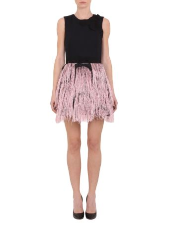 Mab581lur Fringe Lurex Dress