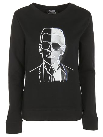 Karl Lagerfeld Photo Sweatshirt