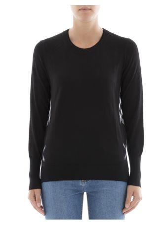 Black Wool Sweatshirt