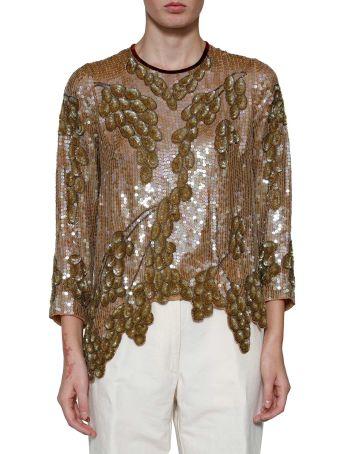 Dries Van Noten 'constantin' Sequinned Shirt