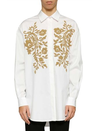 Parosh Embroidered Shirt