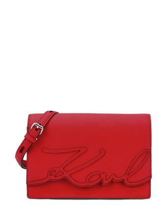 Karl Lagerfeld Lizard Mini Shoulder Bag