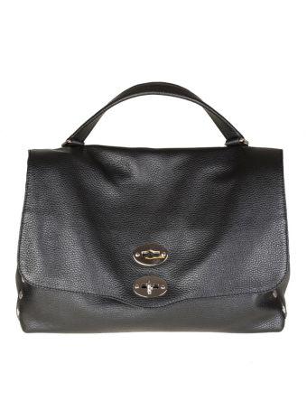 Zanellato Postina M Daily In Black Colored Leather