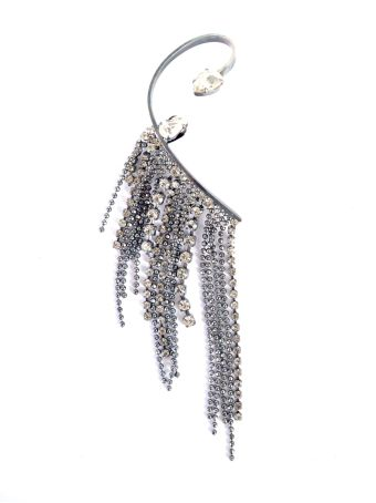Right Side One-earring With Crystales