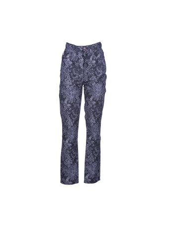 Marc Jacobs Floral Jeans