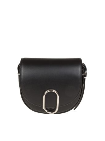Phillip Lim Alix Mini Saddle Crossbody Leather Color Black