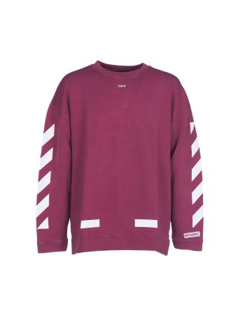 Off White Diag Arrows Over Crewneck