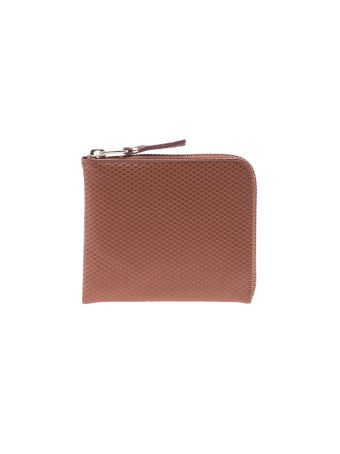 Comme Des Garçons Wallet 'luxury Group' Zip-around Purse