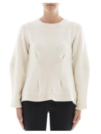 Beige Cashmere Sweatshirt