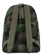 Green Fabric Backpack