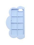 Light Blue Silicon Cloud I-phone Case