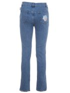 Gcds High Waisted Patch Jeans
